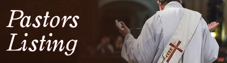 Pastors Listing